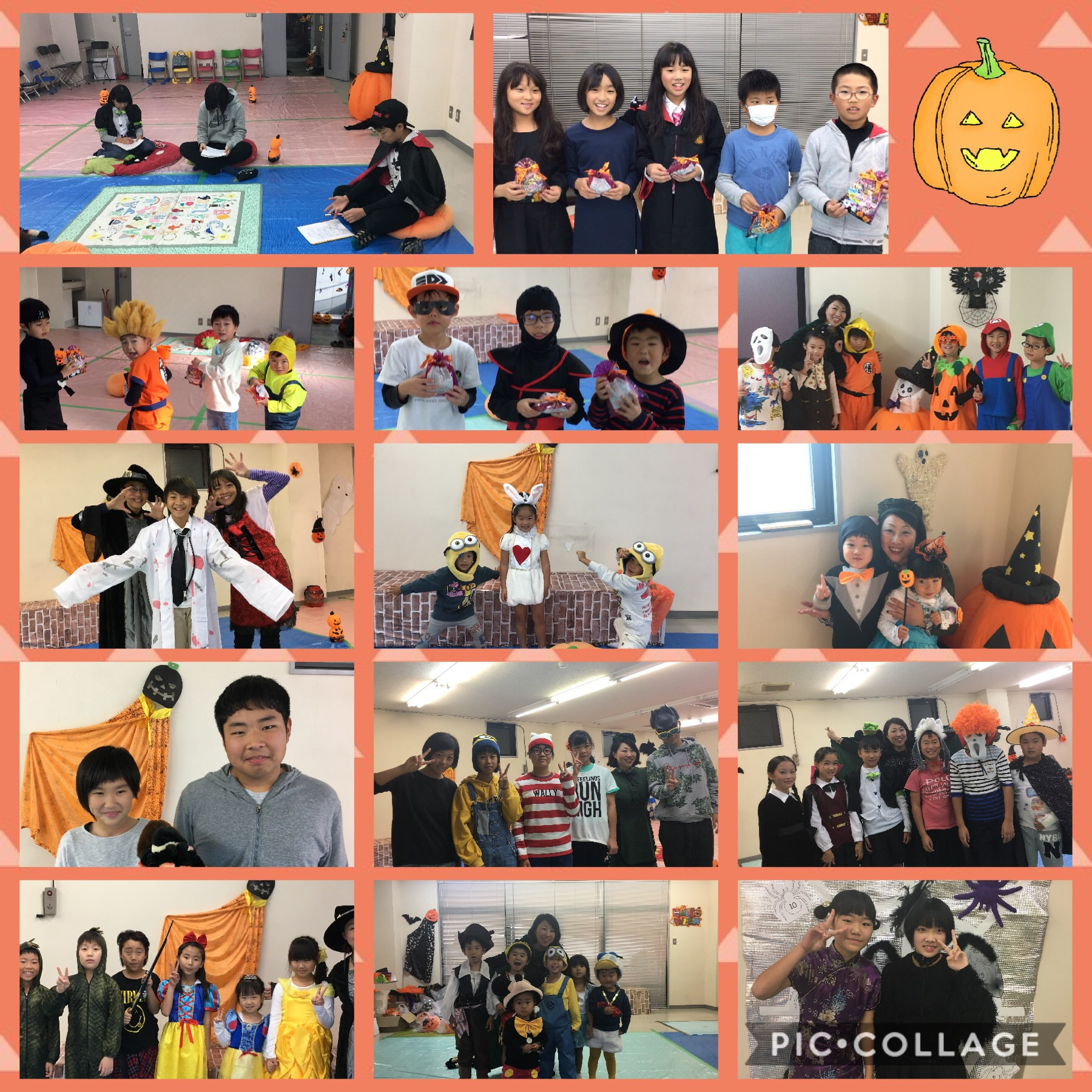 Pines Halloween Lessons 2017